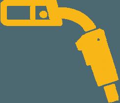 جوشکاری تیرچه فلزی با گاز محافظ CO2 (تیرچه پادیر)